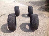 4x Mercedes ML Tyres