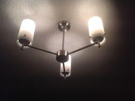 2 x ceiling lights