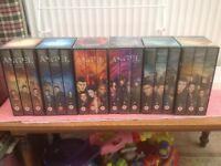 Angel video box sets .Series 1 to 3