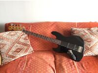 Fender Jazz Bass, left handed