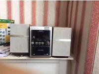 Panasonic CD/cassette/sd card player