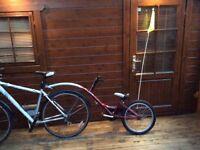 Kid's pull along/ride along cycle
