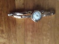 Ladies 9ct gold cased watch