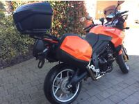 Excellent example: Triumph Tiger 1050 - 2008 Plate