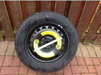 Skoda superb spare wheel and jack kit for 14 plate superb 16 inch continental tyre new