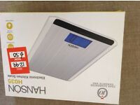 New, but shop soiled , kitchen scales