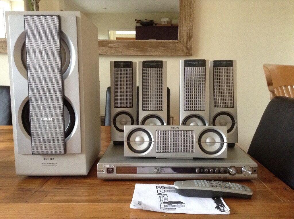 Phillips Lx700 Home Cinema Surround Sound System In