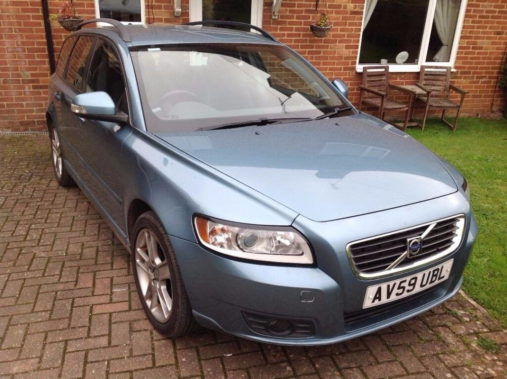 Volvo V50 used by me from new. £20 car tax