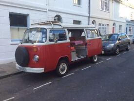 VW Volkswagen Campervan 1978 Type 2 Bay Window In Brighton