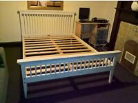 Double bed wooden good quality (Free delivery see description)