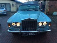 1972 Rolls Royce shadow 1 only 39k miles , Very rare model having the big sunroof , wedding car,