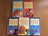 THE BEST OF ROALD DAHL COLLECTION SET HARDBACK BOOKS x 5
