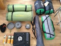4 man tent bundle