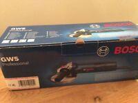 Bosch gws proffesional angle grinder brand new