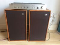 Rotel RA400 Amp and Wharfdale Linton speakers