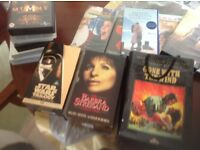 Selection of vhs videos