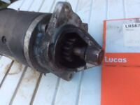 Heavy duty starter motor ford type A series or winch motor