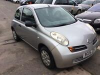 NISSAN MICRA 1.2 PETROL 2005, FULLY SERVICED, BRAND NEW CLUCTH