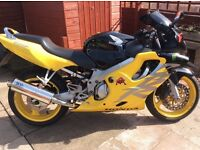 Honda cbr600. 2000 model. 1 year mot, 2 new tyres and new rear brakes. Sports exhaust. 18688 miles