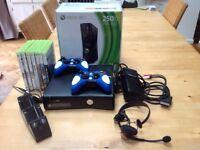 XBOX 360 250GB hard drive (Kinect) incl 7 games
