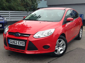 Ford Focus 2012 red 36000 miles ffsh Alwoodley Leeds