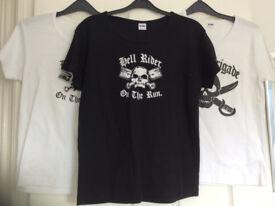 Women's Biker T Shirts