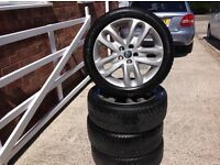 Jaguar X Type Alloys & Winter Tyres