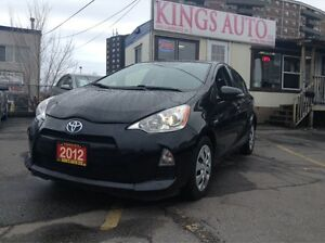 2012 Toyota Prius c HYBRID, CVT, TRACTION, CRUISE, ABS