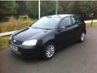 VOLKSWAGEN GOLF 1.9 TDI Diesel. 2008. Road Tax. £135 A Year
