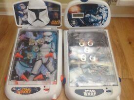 Star Wars electronic pinball machines