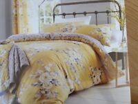 REDUCED PRICE BRAND NEW IN PACKAGING DOUBLE BED DUVET + 2 PILLOWCASES