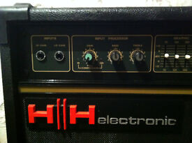 HH Bass Amp Amplifier with Cover.