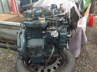 Kubota 3 cylinder engine d850