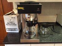 Buffalo coffee machine with 2 jugs