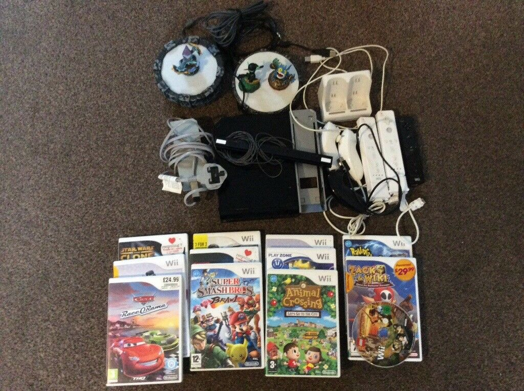 Nintendo Wii bundle in good condition