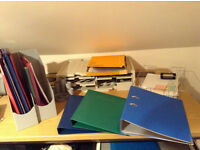 Desk items and stationery - ideal for home office/school