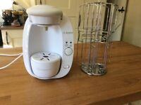 Bosch Tassimo coffee machine with pod holder