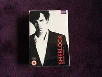 Sherlock complete series 1-3. Brand new.