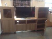IKEA besta, combination/display, tv unit.