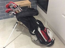 Kids Fazer Golf Set Age 9 -11yrs plus 3 extra clubs