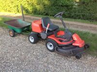 Husqvarna rider out front mower tractor