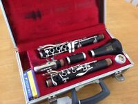 Boosey & Hawkes clarinet 'Bb' and case
