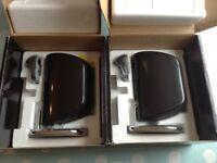 2 B&W Mini Theatre M-1 Speakers