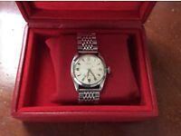 Rolex vintage wristwatch 1955