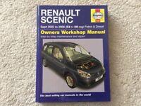 Haynes Renault Scenic workshop manual