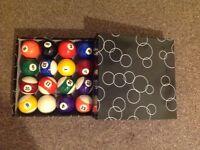 Pool balls-full brand new set