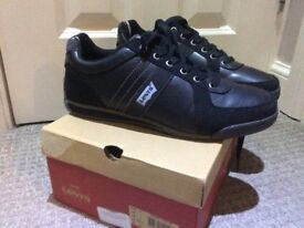 LEVIS leather shoes size 9 new with box