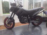 ktm duke2 640 lc4 supermoto 2006 black