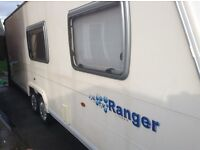 Bailey ranger 6 berth 2008 modil one owner
