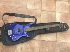 Ibanez Gio Soundgear GSR 200 electric bass guitar .